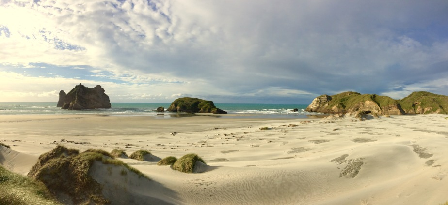 The north coast of the SouthIsland